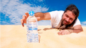 bere acqua crudismo