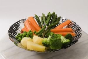 verdure cotte vapore