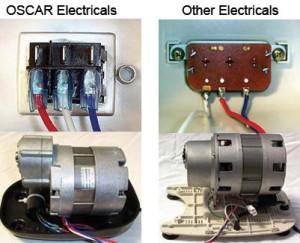 Oscar Neo 1000 parti elettriche