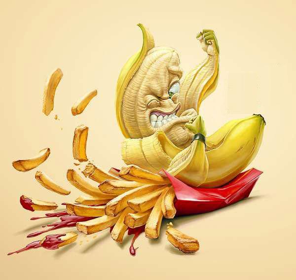 forza volontà cibo