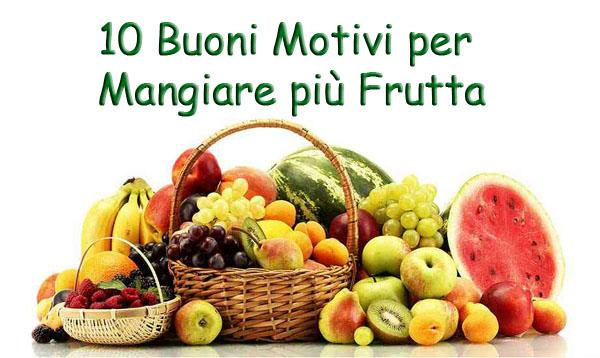 mangiare più frutta