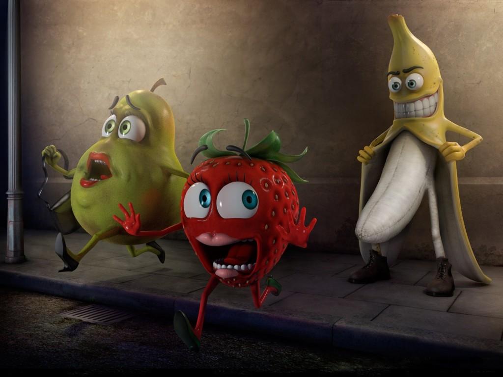 paura della frutta